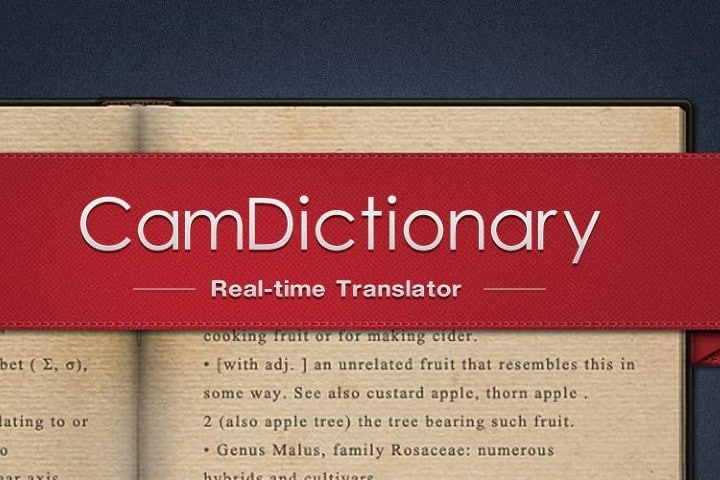 App traductora. FOTO: CamDictionary