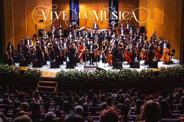 Festival de Música de Morelia Foto Proceso