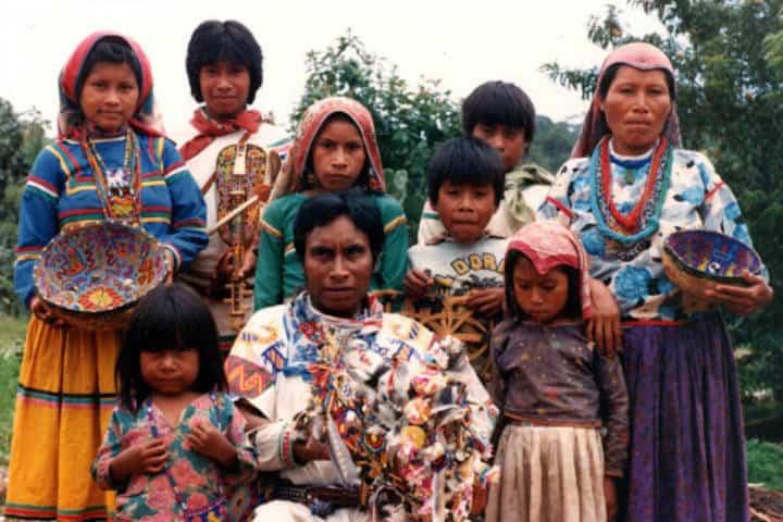 Teakata, cultura Huichol en Nayarit. Foto ARTS CARE Homepage.