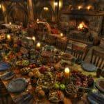 Banquete en Hobbiton. Nueva Zelanda. Foto Archivo 2