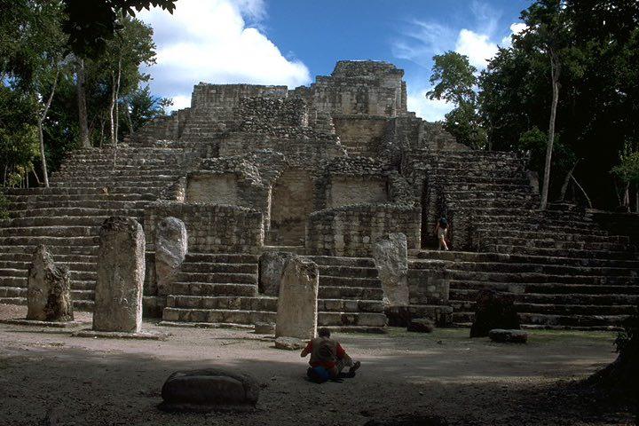 Calakmul en Campeche. Foto Elaine Schele