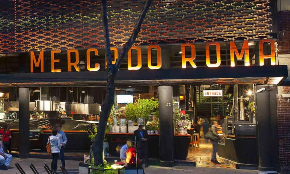 Portada Mercado Roma. CDMX. Foto. Mercado Roma 2