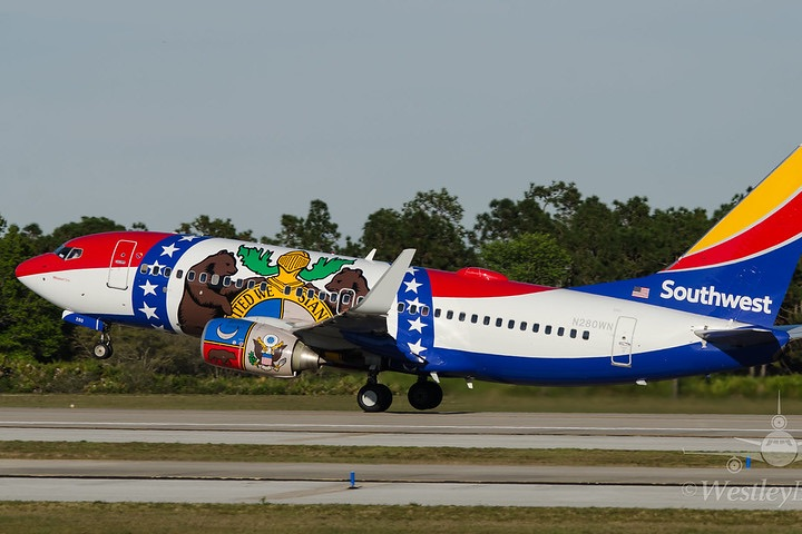 Southwest Airlines. Foto KMCO Spotter