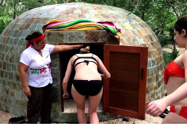 Temazcal ritual maya Foto Jimmy Pons