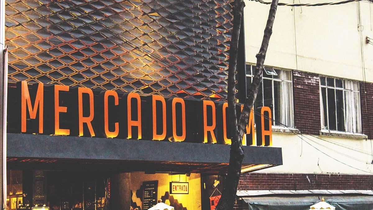 mercado roma2. Foto. Mercado Roma