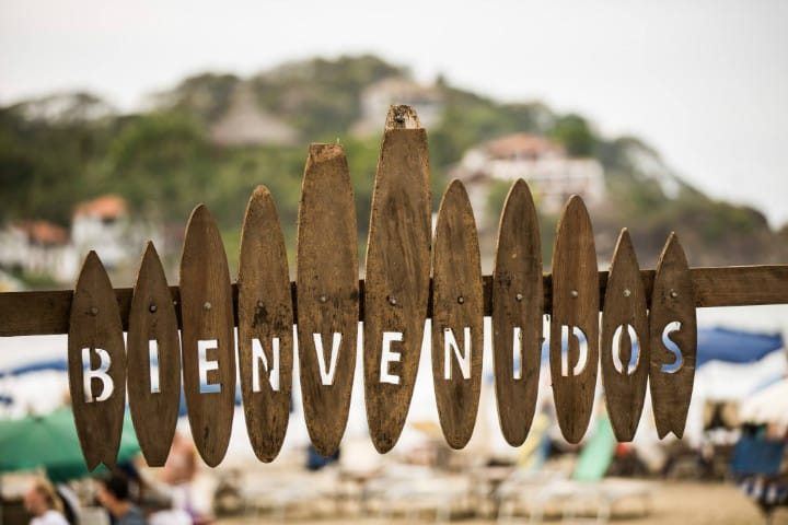 Bienvenidos al Festival Sayulita. Foto. La Bahía Eventos