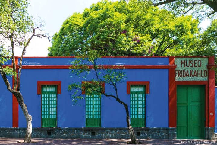 Casa de Frida Kahlo, Los imperdibles de Coyoacán. Foto CNN en Español.