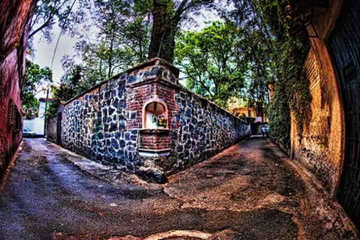 Callejón del Aguacate, Coyoacán. Foto archivo