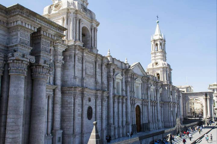 Catedral de Arequipa.Foto.Perú.2