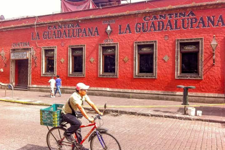 La Guadalupana, los imperdibles de Coyoacán. Foto Chocolate & Miles.