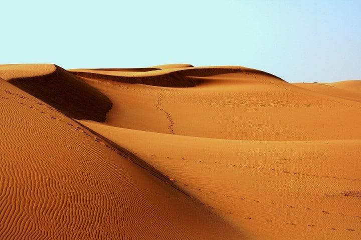 Desierto del Sahara Foto parvel