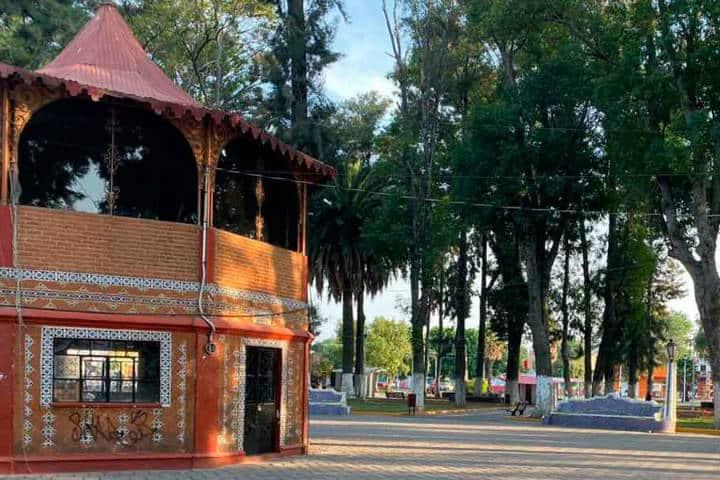 Recorrido en Huejotzingo y San Andrés Calpan. Foto Diario Puntual.