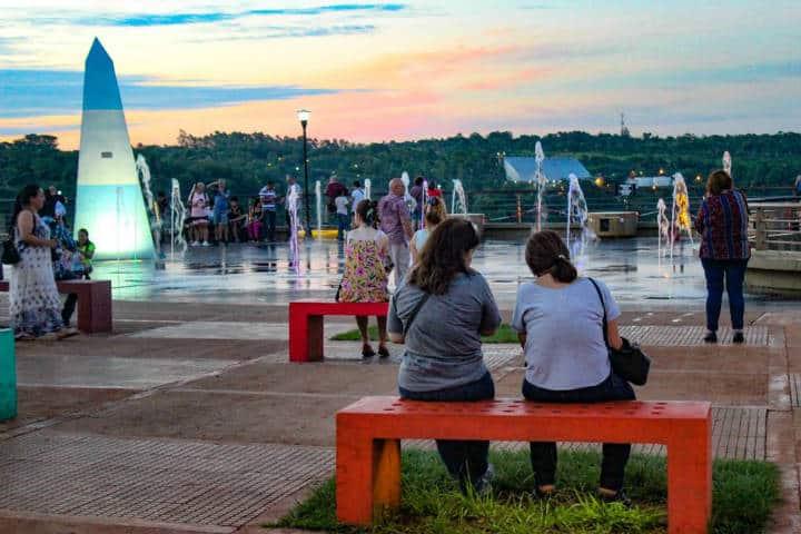 Malecón Iguazú. Foto El Independiente Iguazú.