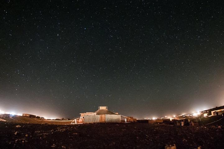 El Sahara de noche. Foto: Eneas De Troya