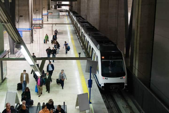 El metro en la Ciudad de Madrid. Foto Tomás Montes 6