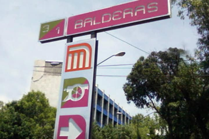 Estación del Metro Balderas. CDMX. Foto: Archivo