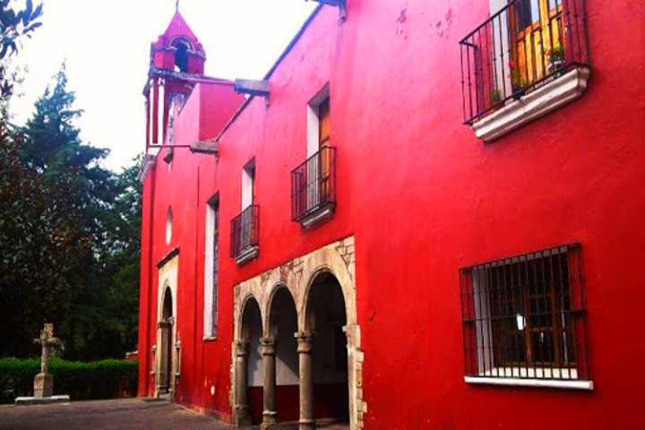 Ex Convento de Santo Domingo de Guzmán Mixcoac México. Foto CDMX Travel.