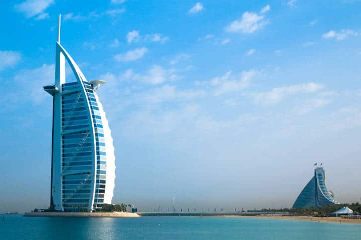 Hotel Burj Al Arab. Dubai. Foto: Joi Ito