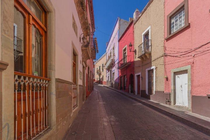 Las hermosas calles de Guanajuato. Foto: CarlosAlcazar