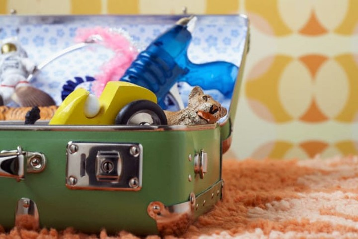 Las maletas son muy importantes en cada viaje. Foto Archivo.