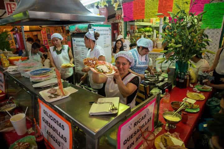 Mercado de Antojitos. Foto Matador Network.