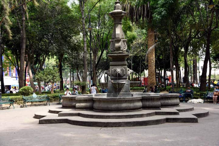 Jardín Centenario. Foto On the Grid City.
