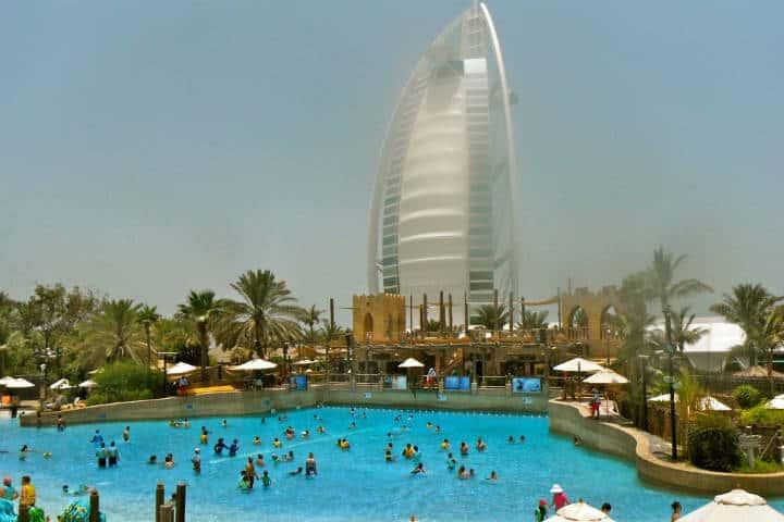 Parque acuático Wild Wadi. Dubai. Foto: Sarah Lou