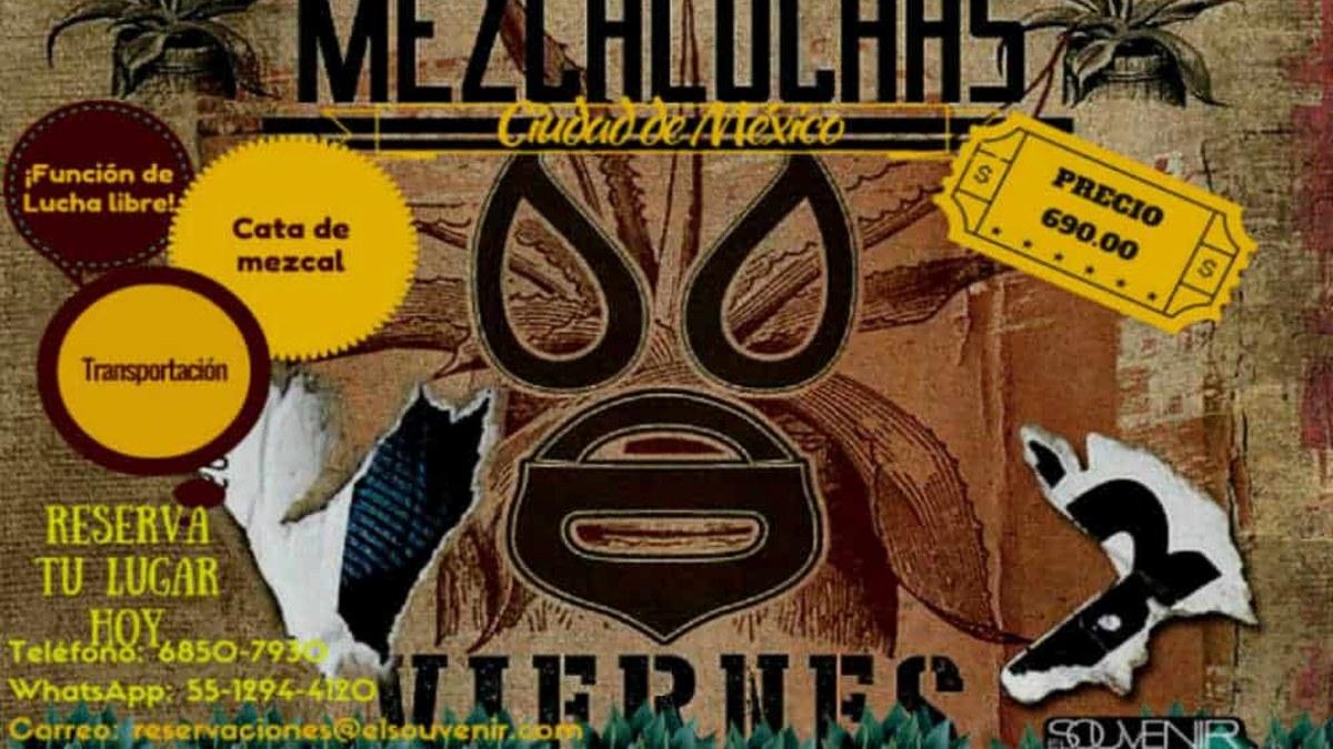 Portada. Tour MezcaLuchas en la CDMX. Foto Archivo