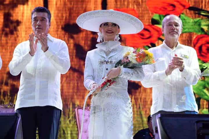 Reina de la Fiesta Mesoamericana en Tapachula.Foto.El Orbe.2