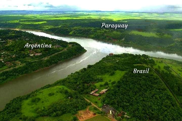 Río Iguazú. Foto COMIP. Cataratas Argentinas.