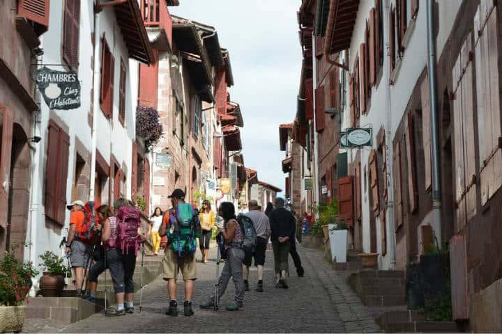 Saint Jean Pied de Port, última etapa del Camino de Santiago. Foto Archivo 4