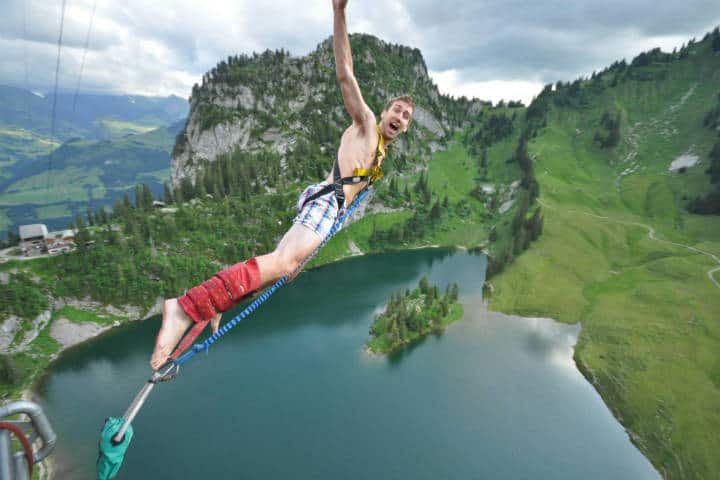 Salto en bungee. Suiza. Foto Alan Light 2