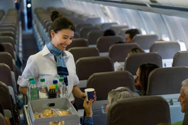 Viaje en avión. Foto Traveler.