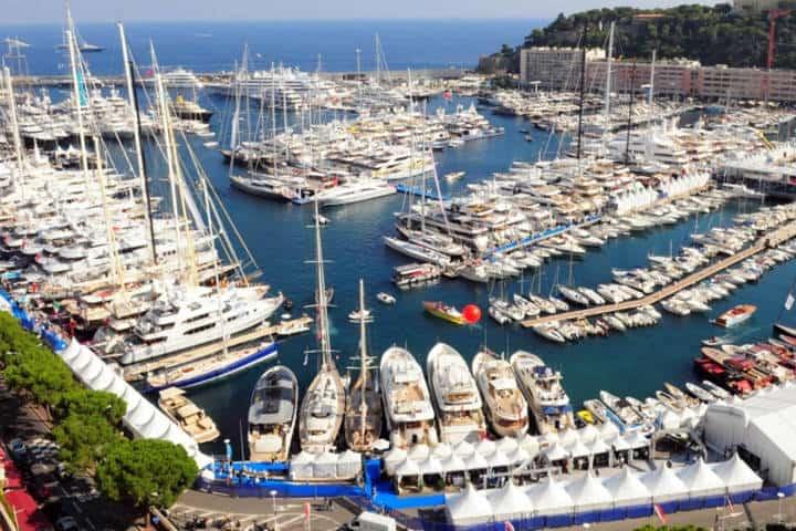 Yacht Show. Foto VisitMonaco.
