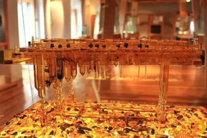 Xilófono en el Museo del ämbar.foto.Blog Casa Lum.7