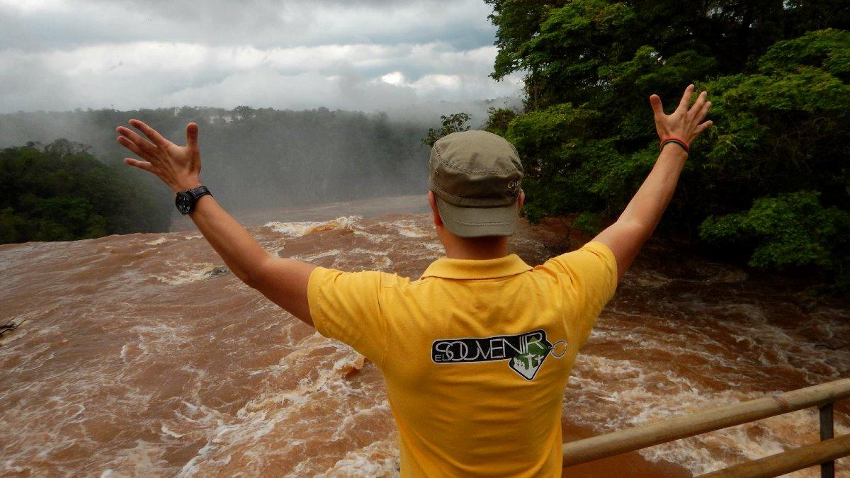 Cataratas de Iguazú Foto El Souvenir