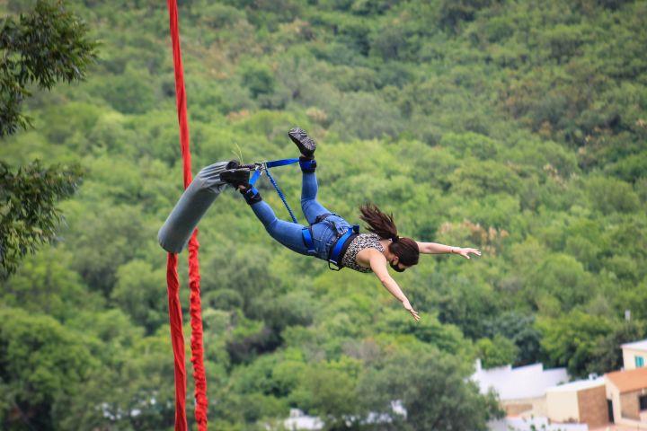 Ibo adventures Foto: El bungee más grande de méxico
