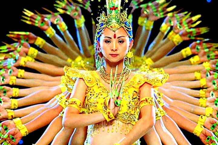 Danza del Bodhisattva de las Mil Manos. Foto 365 Días de Valentía Moral.