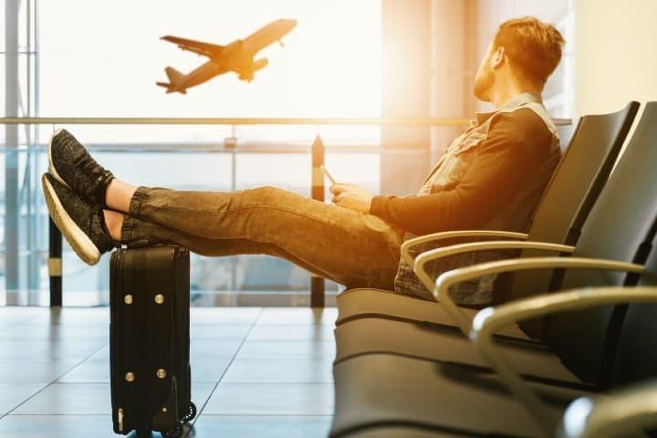 Aeropuerto. Foto: JESHOOTS.COM Consejos para viajar gratis