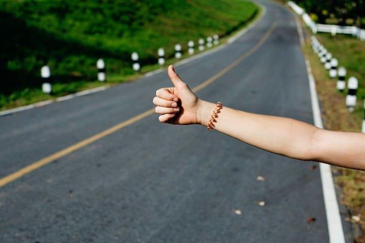 Autostop Foto StockSnap