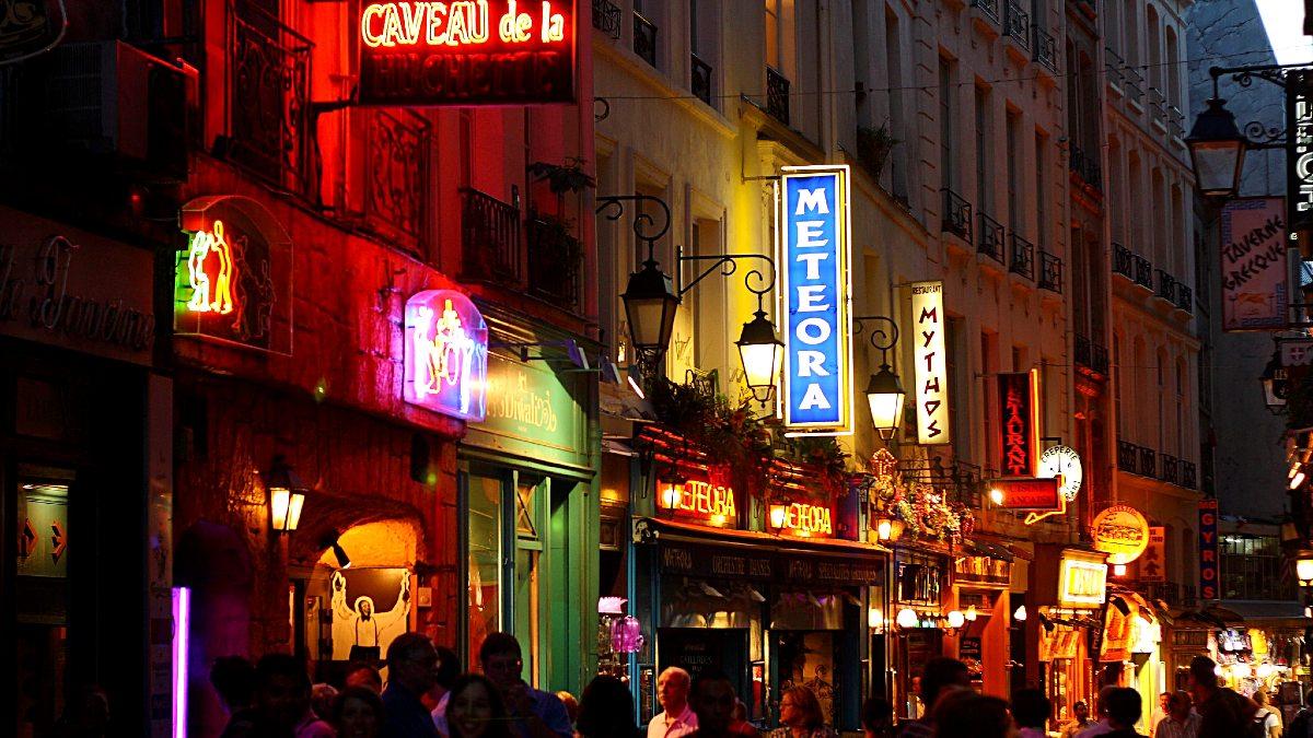 Barrio Latino en París. Foto Jonathan Cohen