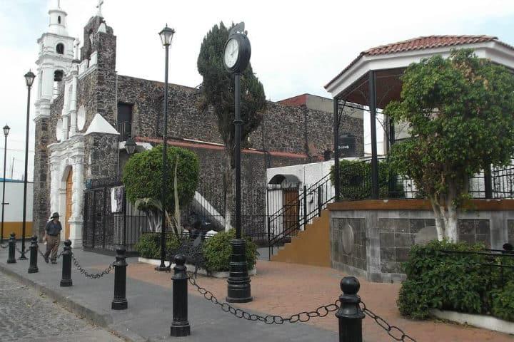 Barrio de Santa Cruz. CDMX. Foto: Sonia Martínez