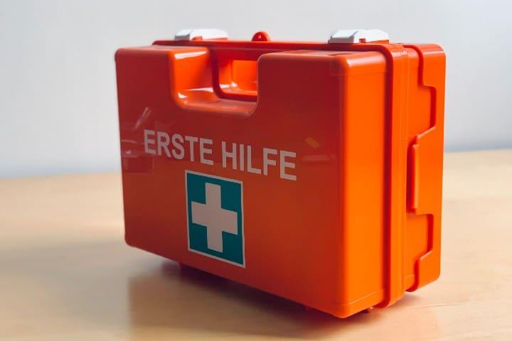 Botiquín de emergencia. Foto: Sebastian