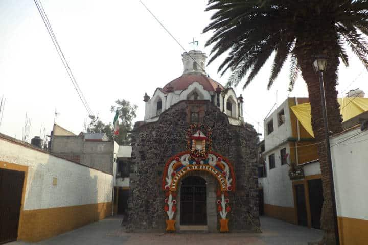 Capilla de la Gualupita. CDMX. Foto: Archivo