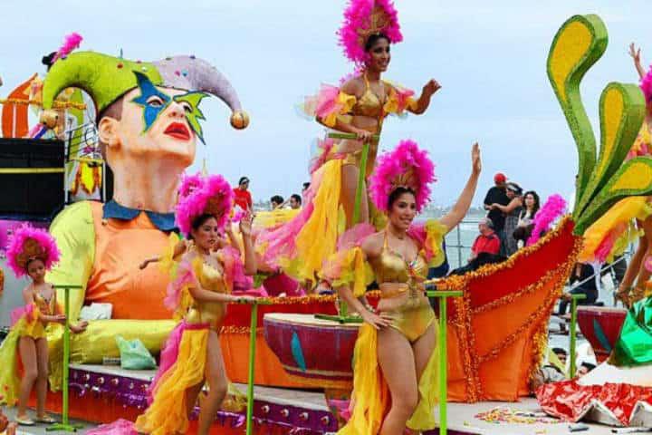 Carnaval de Veracruz. Foto por TV Pacífico 3.