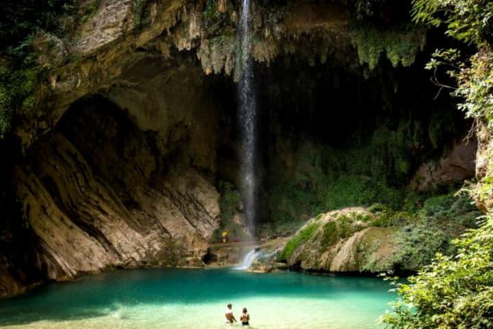 Cascada del Chipitín Foto Walking México