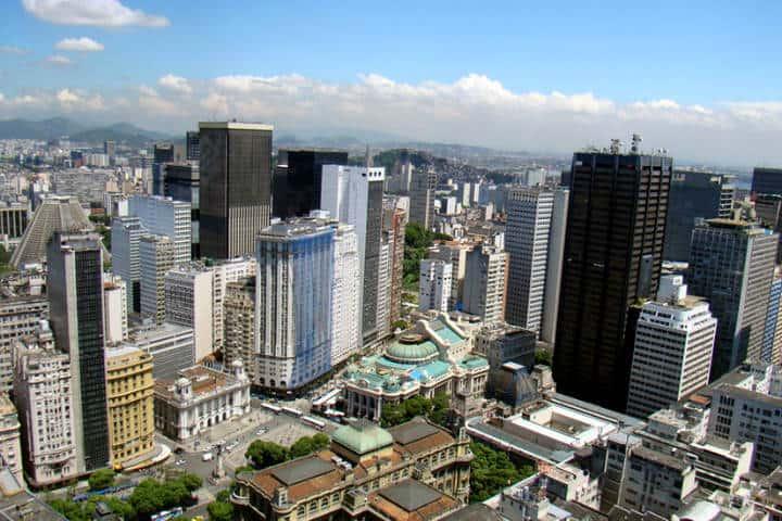 Ciudad de los rascacielos blancos.Foto.Free Walking tour Rio de Janeiro.7