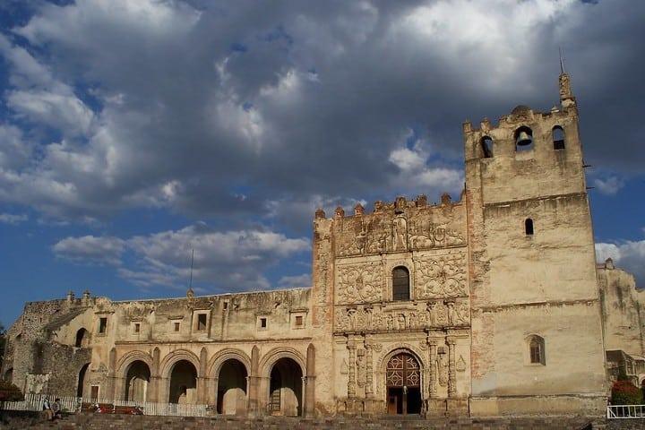 El monasterio de Yuriria, Guanajuato. Foto: Cesar