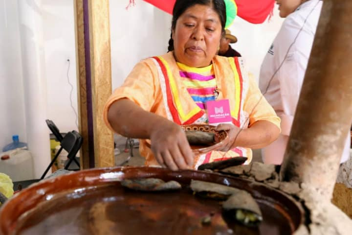 Encuentro de cocineras tradicionales en Michoacán.Foto.Quadratín.6
