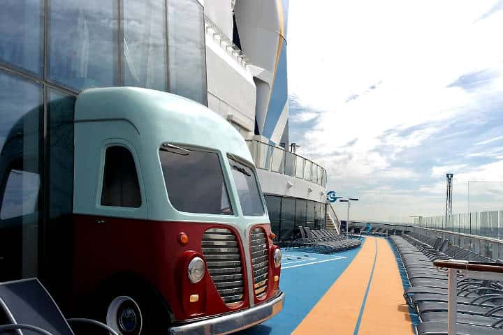 Food Truck Cruceros Royal Caribbean. Foto Era Holidays.